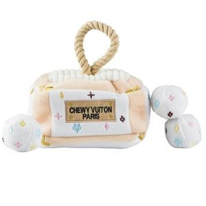 Other - Fun Dog Chew Toys with Case